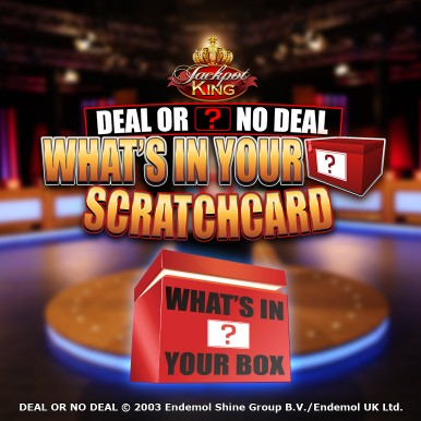 Deal Or No Deal: What's In Your Box Scratchcard